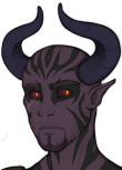 cropped daemon male